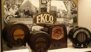 bakelite towel ring vintage Ekco